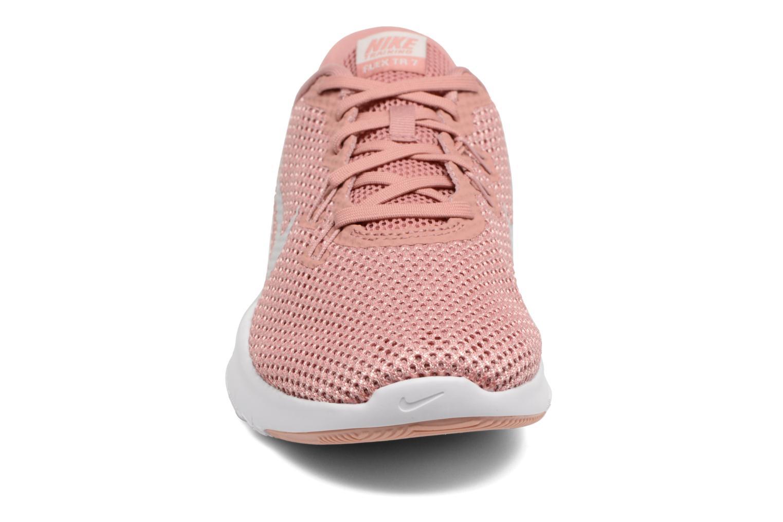 Sportskor Nike W Nike Flex Trainer 7 Rosa bild av skorna på
