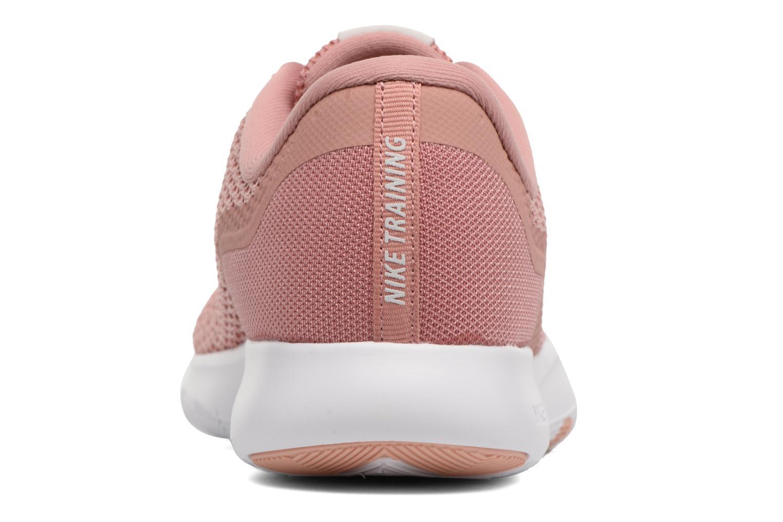 Sportskor Nike W Nike Flex Trainer 7 Rosa Bild från höger sidan