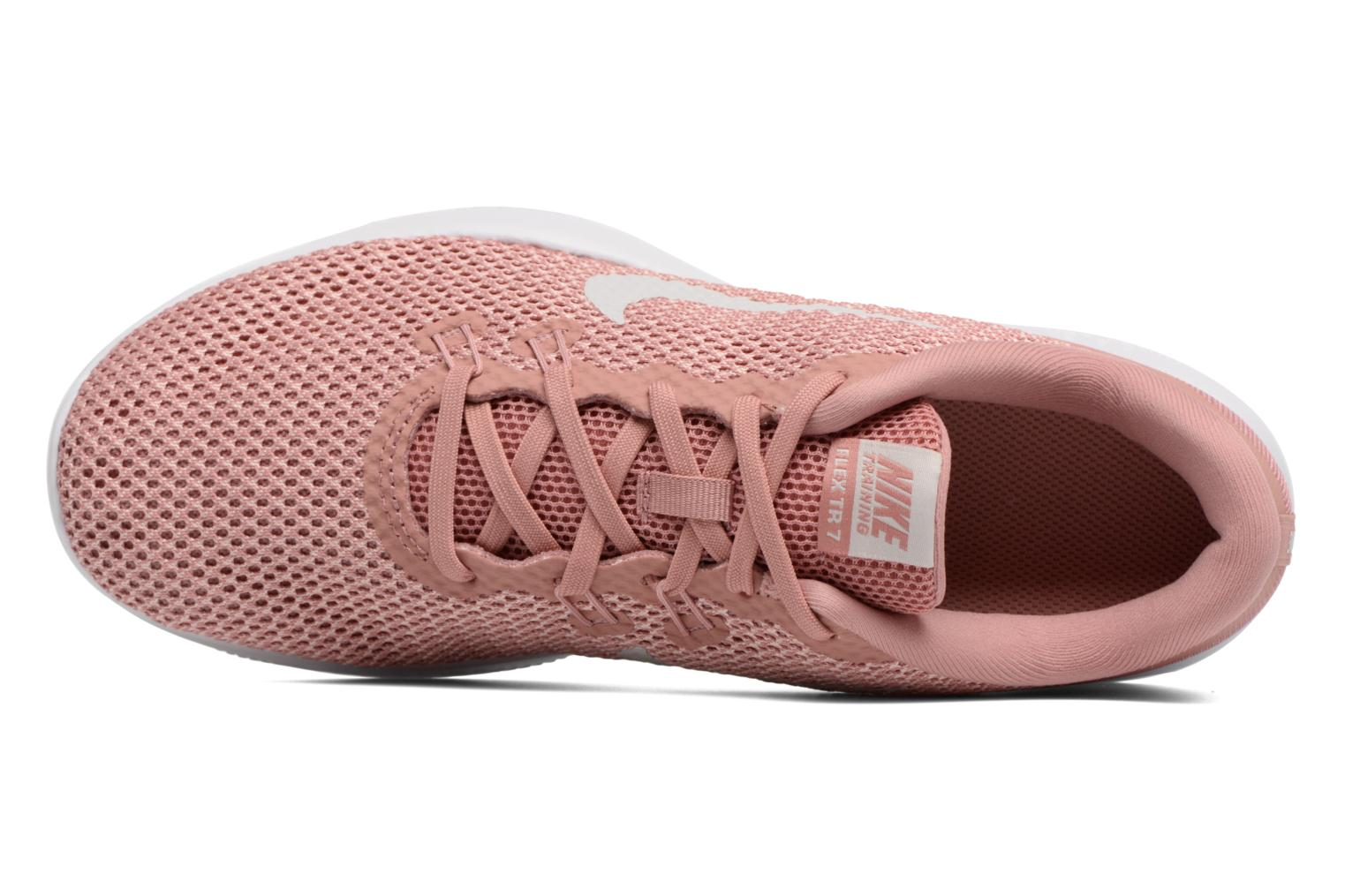 Sport shoes Nike W Nike Flex Trainer 7 Pink view from the left