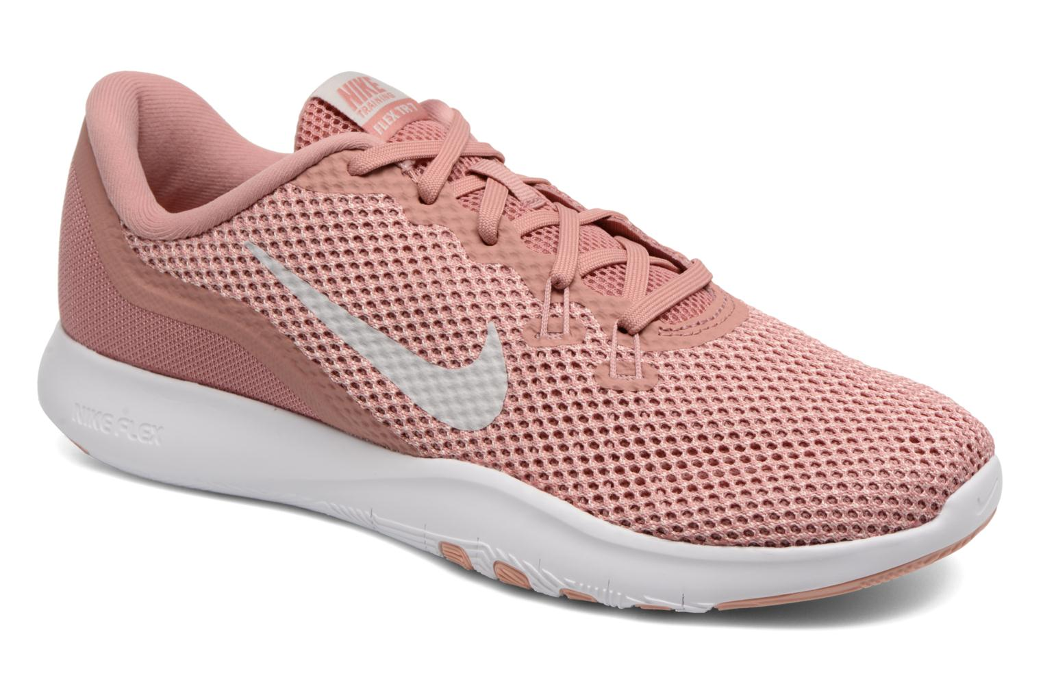 Marques Chaussure femme Nike femme W Nike Flex Trainer 7 Rust Pink/Vast Grey-Coral Stardust