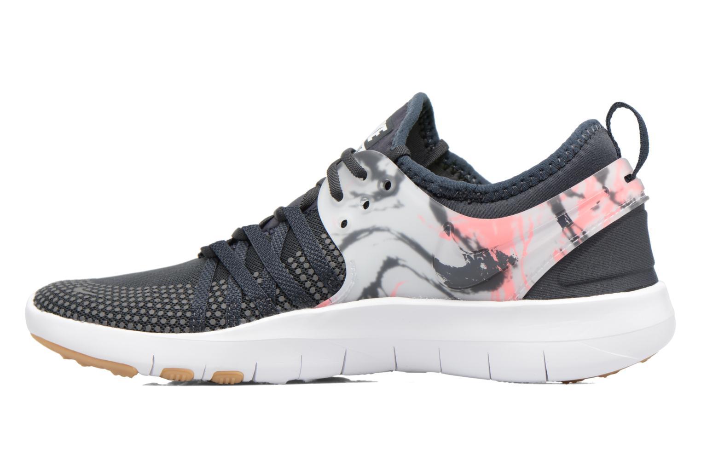 Sportschuhe Nike Wmns Nike Free Tr 7 grau ansicht von vorne