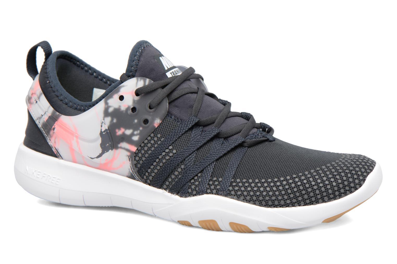 Chaussures de sport Nike Wmns Nike Free Tr 7 Gris vue détail/paire