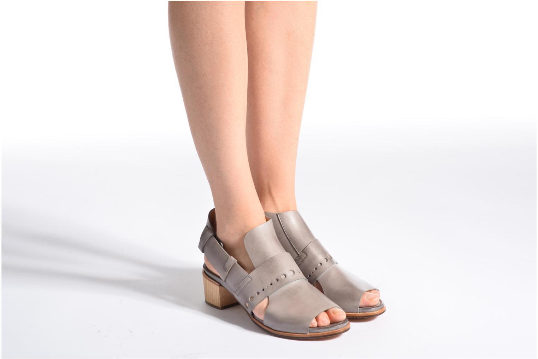 Sandales et nu-pieds Neosens Callet S149 Gris vue bas / vue portée sac