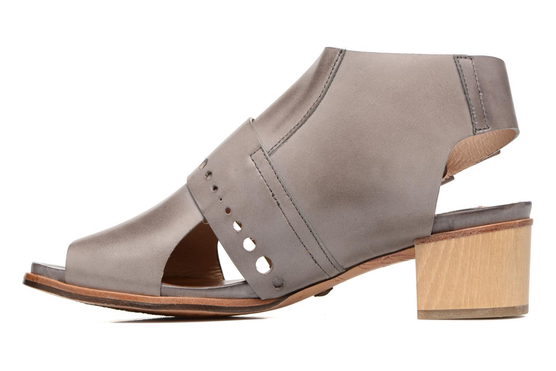 Sandales et nu-pieds Neosens Callet S149 Gris vue face