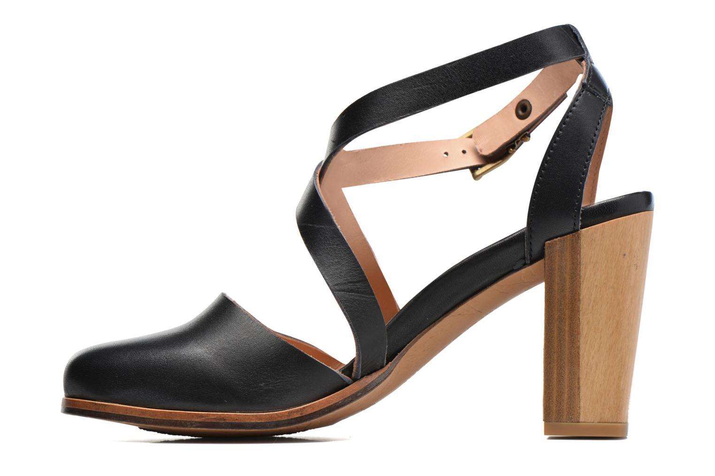Sandales et nu-pieds Neosens Gloria S195 Marron vue face