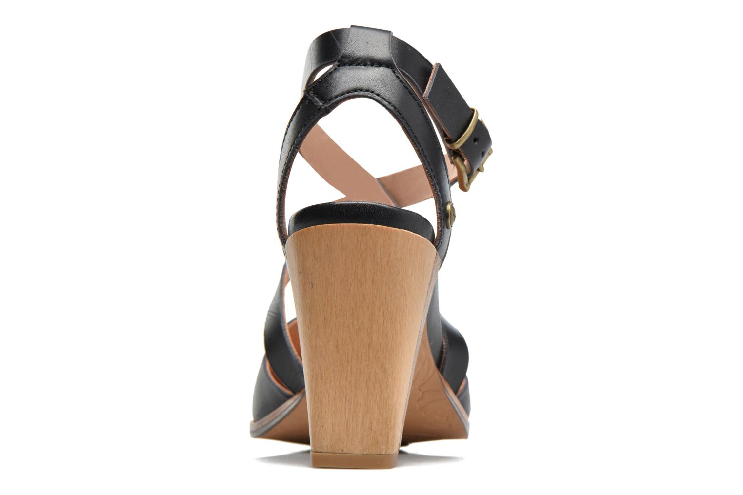 Sandals Neosens Gloria S195 Brown view from the right
