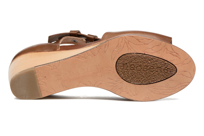 Sandales et nu-pieds Neosens Noah S217 Marron vue haut