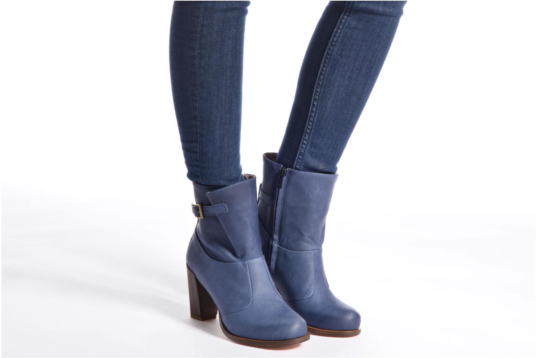 Bottines et boots Neosens Gloria S552 Bleu vue bas / vue portée sac