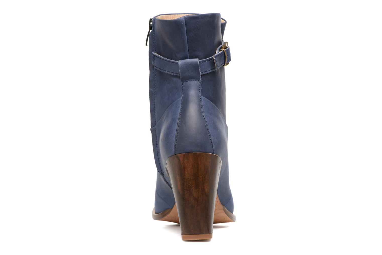 Bottines et boots Neosens Gloria S552 Bleu vue droite