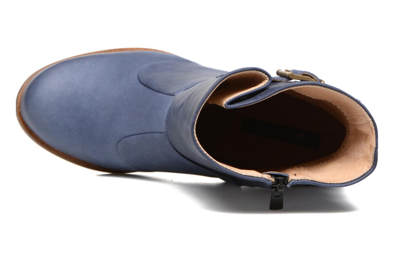 Stivaletti e tronchetti Neosens Gloria S552 Azzurro immagine sinistra