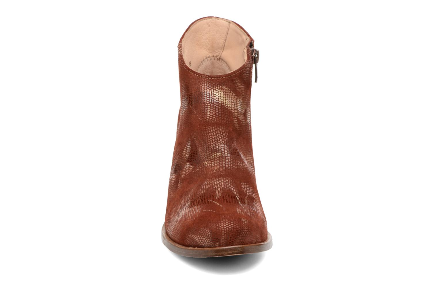 Ankle boots Neosens Gloria S553 Brown model view