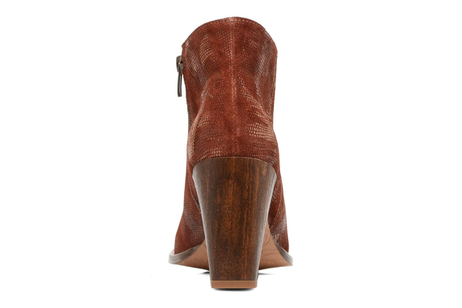 Ankle boots Neosens Gloria S553 Brown view from the right