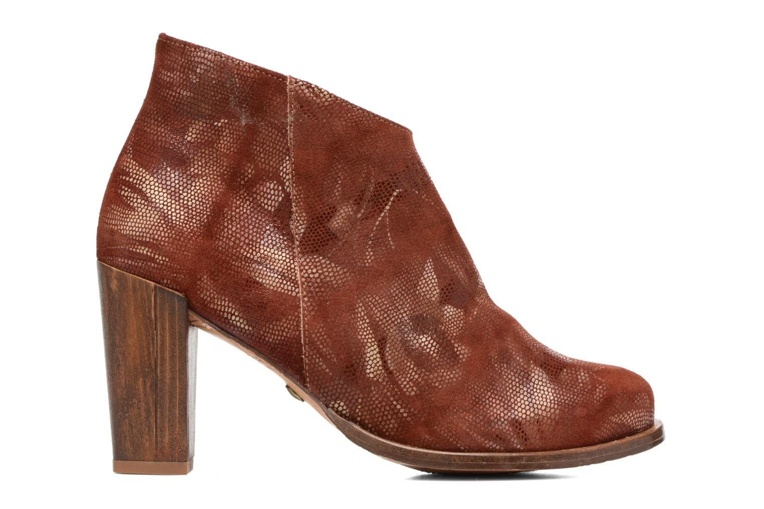 Ankle boots Neosens Gloria S553 Brown back view