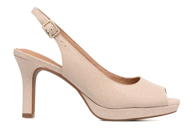 Sandales et nu-pieds Clarks Mayra Blossom Beige vue derrière