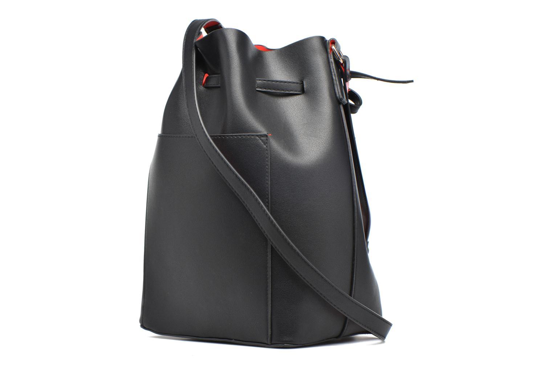 Sacs à main Pieces Deena Bucket Bag Noir vue droite
