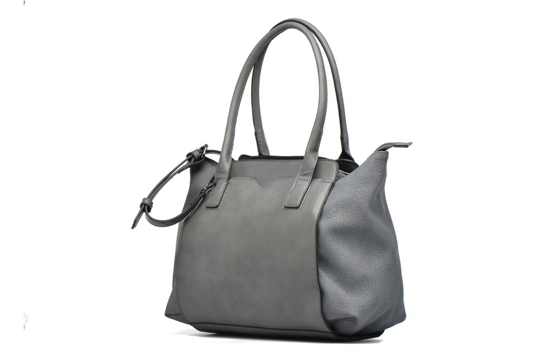 Borse Pieces Ladada Bag Azzurro modello indossato