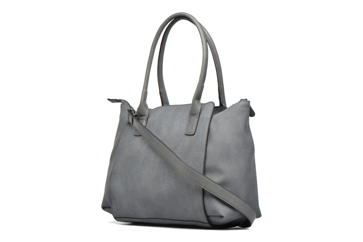 Handbags Pieces Ladada Bag Blue view from the right