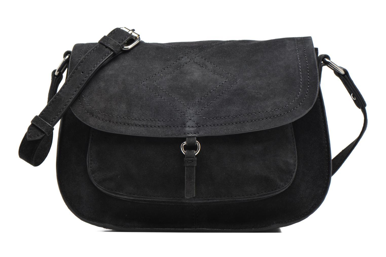 Sacs pochettes Pieces Mery Leather Cross Over Bag Noir vue détail/paire