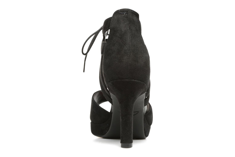 Sandales et nu-pieds Clarks Mayra Ellie Noir vue droite