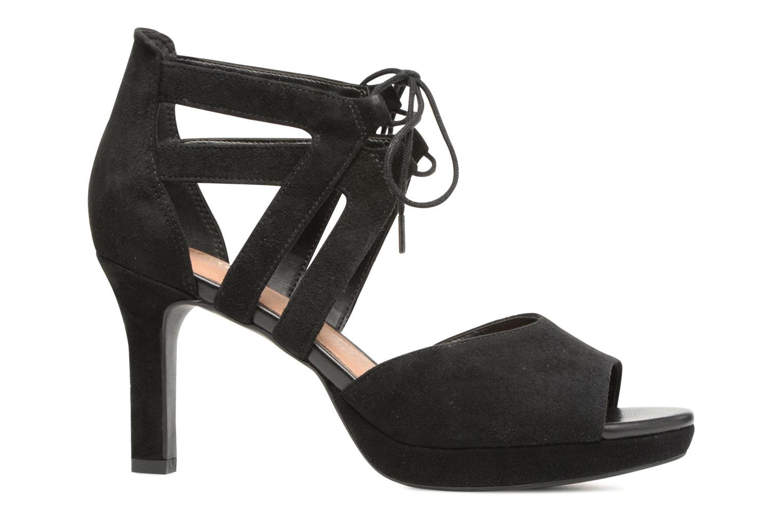 Sandales et nu-pieds Clarks Mayra Ellie Noir vue derrière