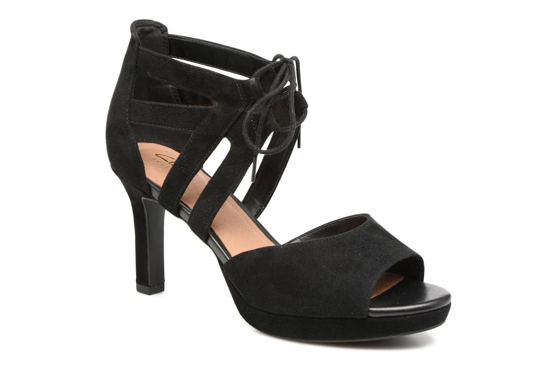 Sandales et nu-pieds Clarks Mayra Ellie Noir vue détail/paire