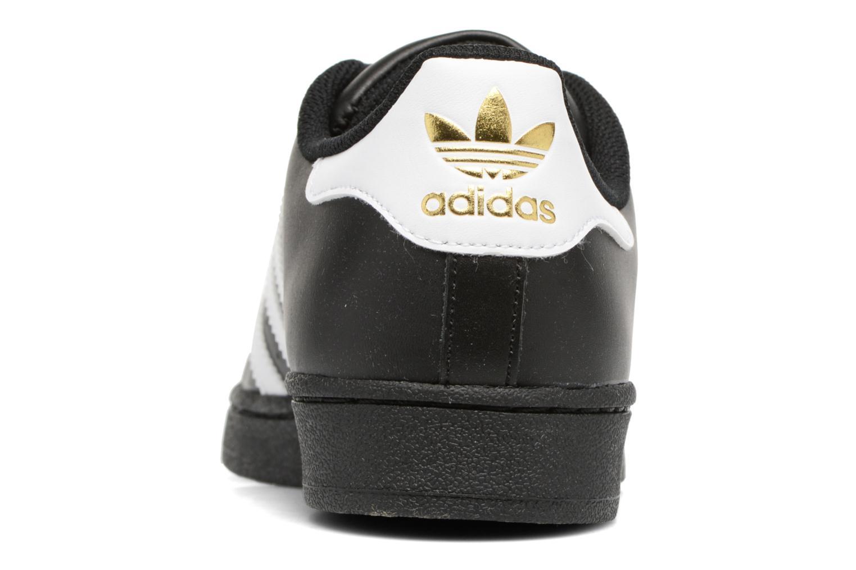 Baskets Adidas Originals Adidas Superstar Foundation Noir vue droite