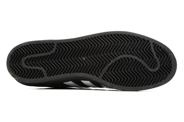 Baskets Adidas Originals Adidas Superstar Foundation Noir vue haut