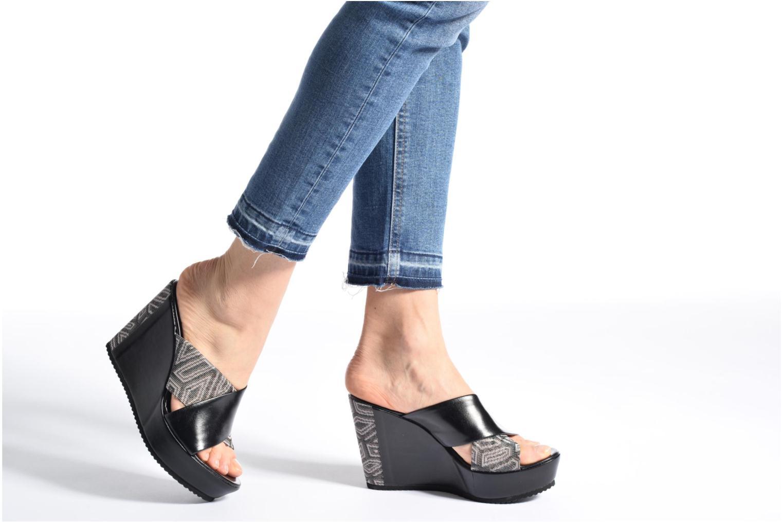 Sandales et nu-pieds Elizabeth Stuart Blinis 992 Noir vue bas / vue portée sac