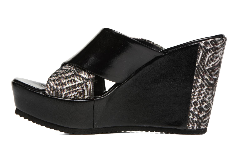Sandales et nu-pieds Elizabeth Stuart Blinis 992 Noir vue face