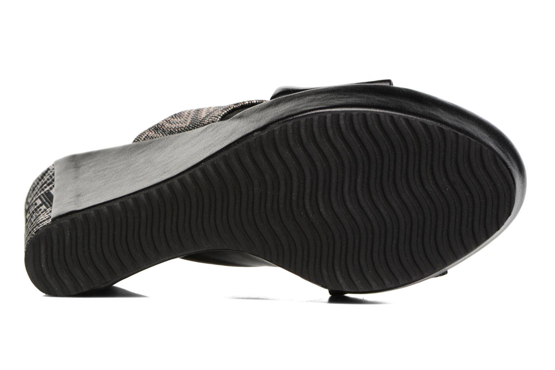 Sandales et nu-pieds Elizabeth Stuart Blinis 992 Noir vue haut