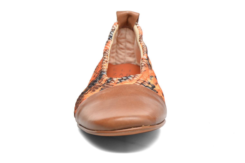 Ballerines Elizabeth Stuart Boca 949 Orange vue portées chaussures