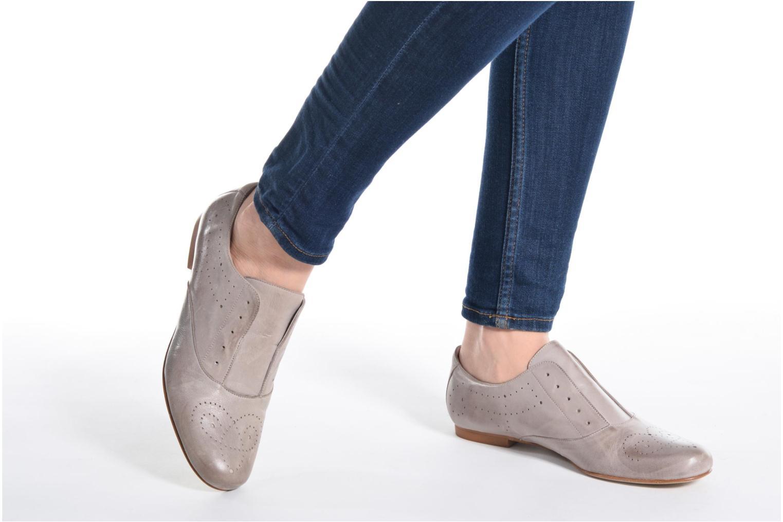 Chaussures à lacets Elizabeth Stuart Issy 390 Beige vue bas / vue portée sac