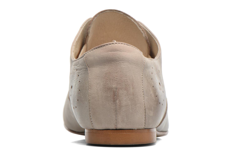 Chaussures à lacets Elizabeth Stuart Issy 390 Beige vue droite