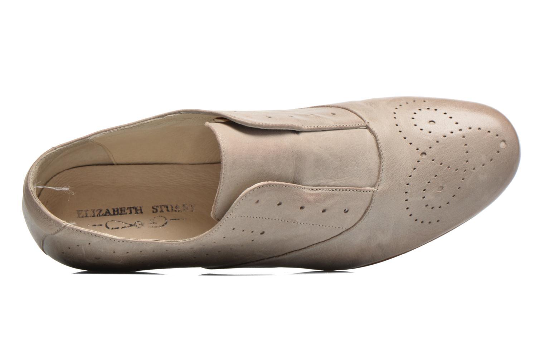 Chaussures à lacets Elizabeth Stuart Issy 390 Beige vue gauche