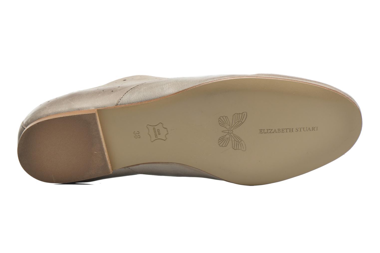 Chaussures à lacets Elizabeth Stuart Issy 390 Beige vue haut