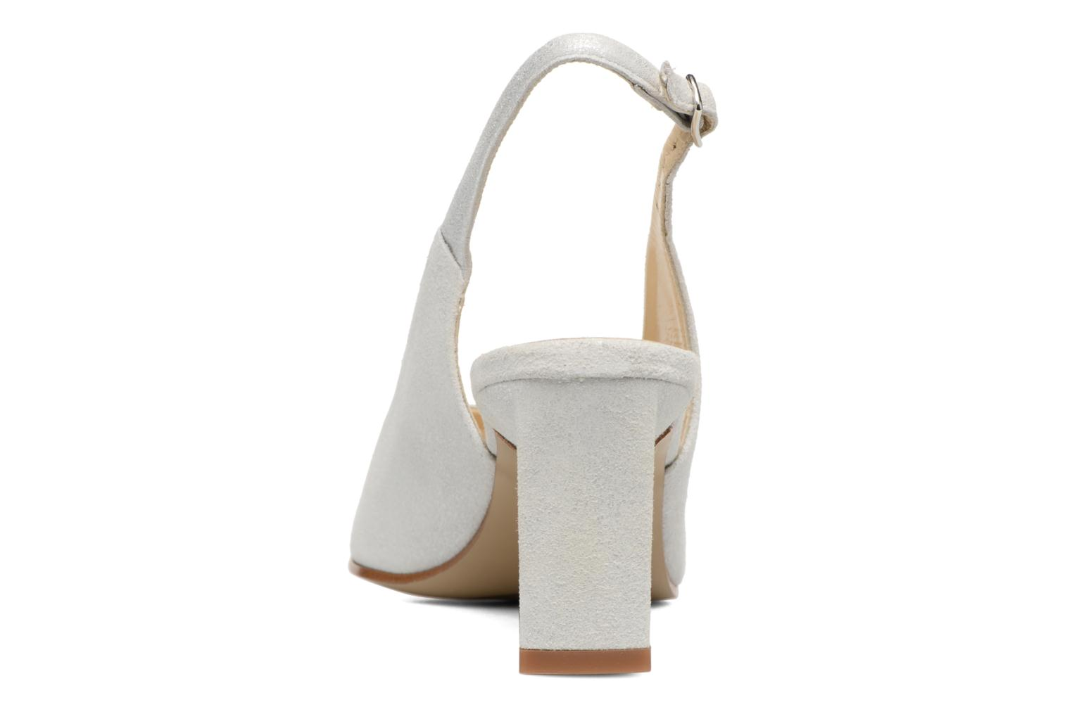 High heels Elizabeth Stuart Rulex 415 White view from the right