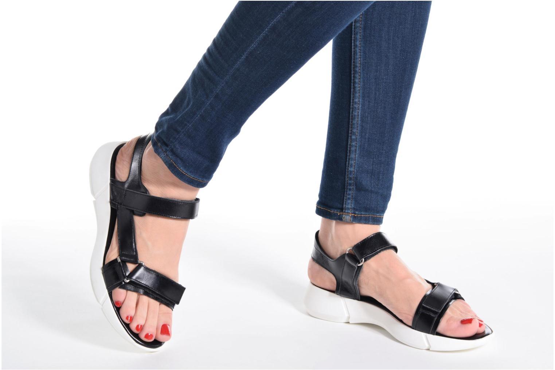 Sandales et nu-pieds Elizabeth Stuart Titien 304 Noir vue bas / vue portée sac
