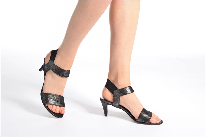 Sandals Elizabeth Stuart Zidao 415 Black view from underneath / model view
