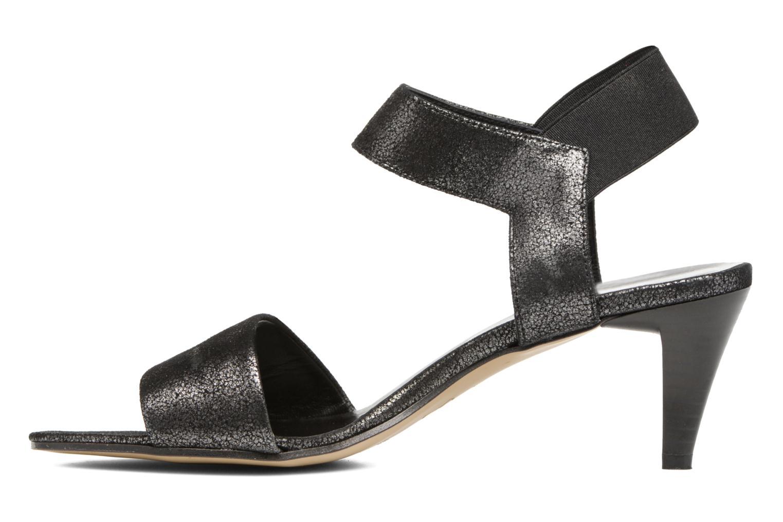 Sandals Elizabeth Stuart Zidao 415 Black front view
