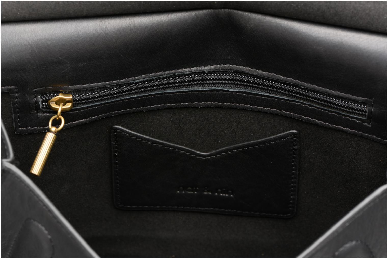 Handtaschen Nat & Nin Anja schwarz ansicht von hinten