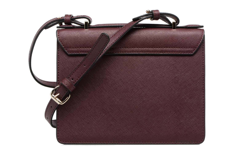 Handtaschen Vivienne Westwood Crossbody Opio Saffiano weinrot ansicht von vorne