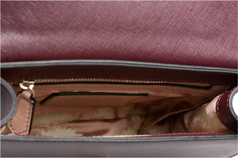 Handtaschen Vivienne Westwood Crossbody Opio Saffiano weinrot ansicht von hinten