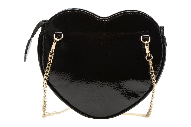 Sacs pochettes Vivienne Westwood Crossbody Cœur Margate Noir vue face