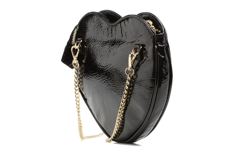 Sacs pochettes Vivienne Westwood Crossbody Cœur Margate Noir vue droite