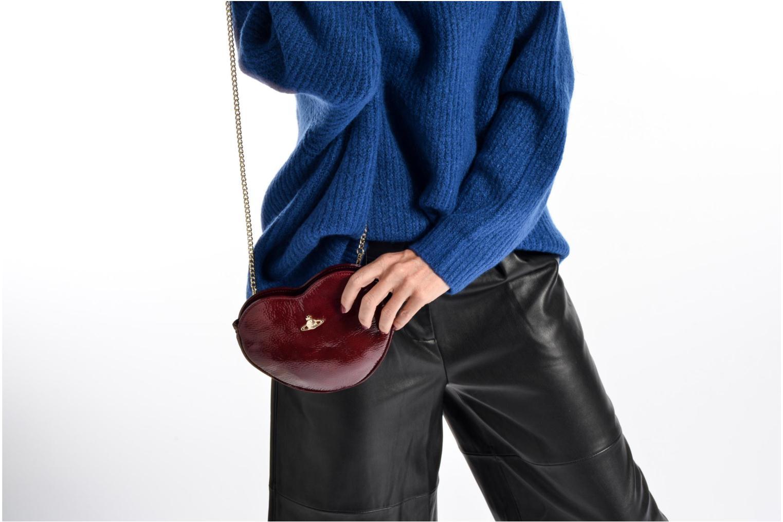 Mini Bags Vivienne Westwood Crossbody Cœur Margate schwarz ansicht von oben