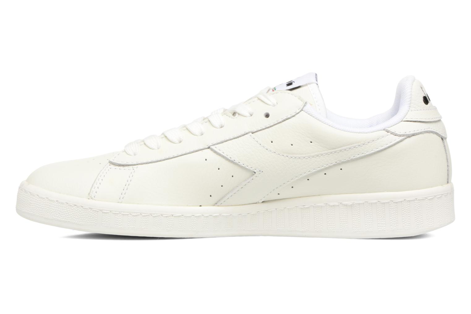 Sneakers Diadora GAME L LOW WAXED Bianco immagine frontale