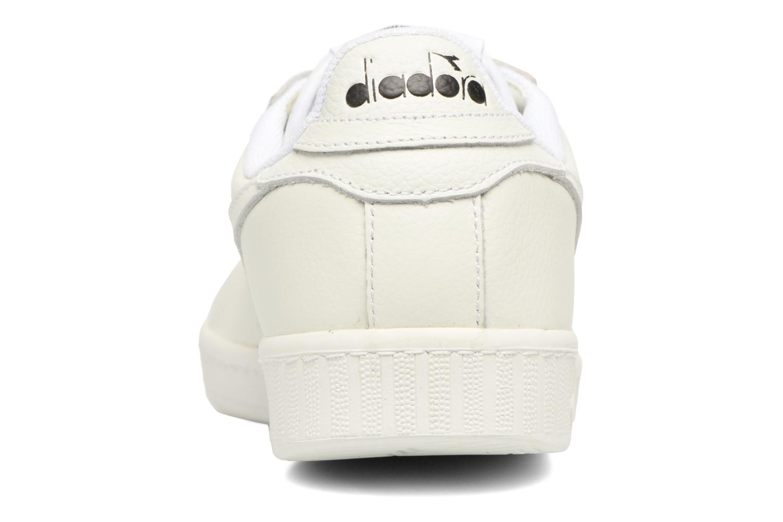 Baskets Diadora GAME L LOW WAXED Blanc vue droite