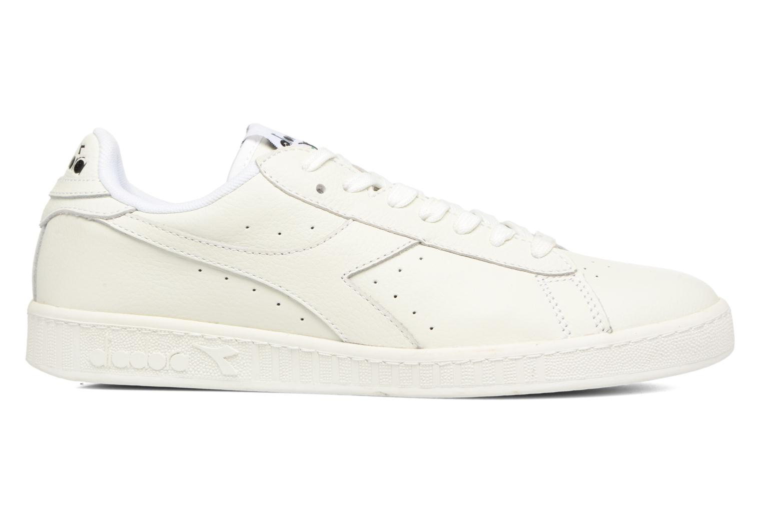 Sneakers Diadora GAME L LOW WAXED Bianco immagine posteriore