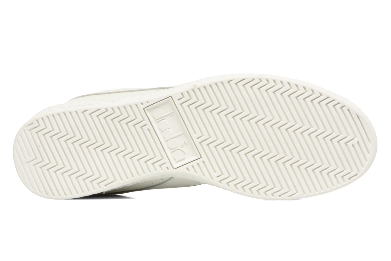 Sneakers Diadora GAME L LOW WAXED Bianco immagine dall'alto