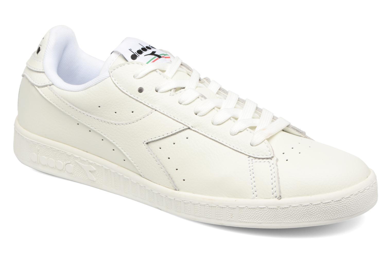 Sneakers Diadora GAME L LOW WAXED Bianco vedi dettaglio/paio